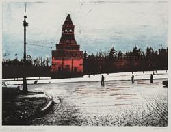 Kremlin Wall, 1990