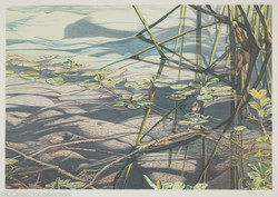 No Title (diptych A), 1989
