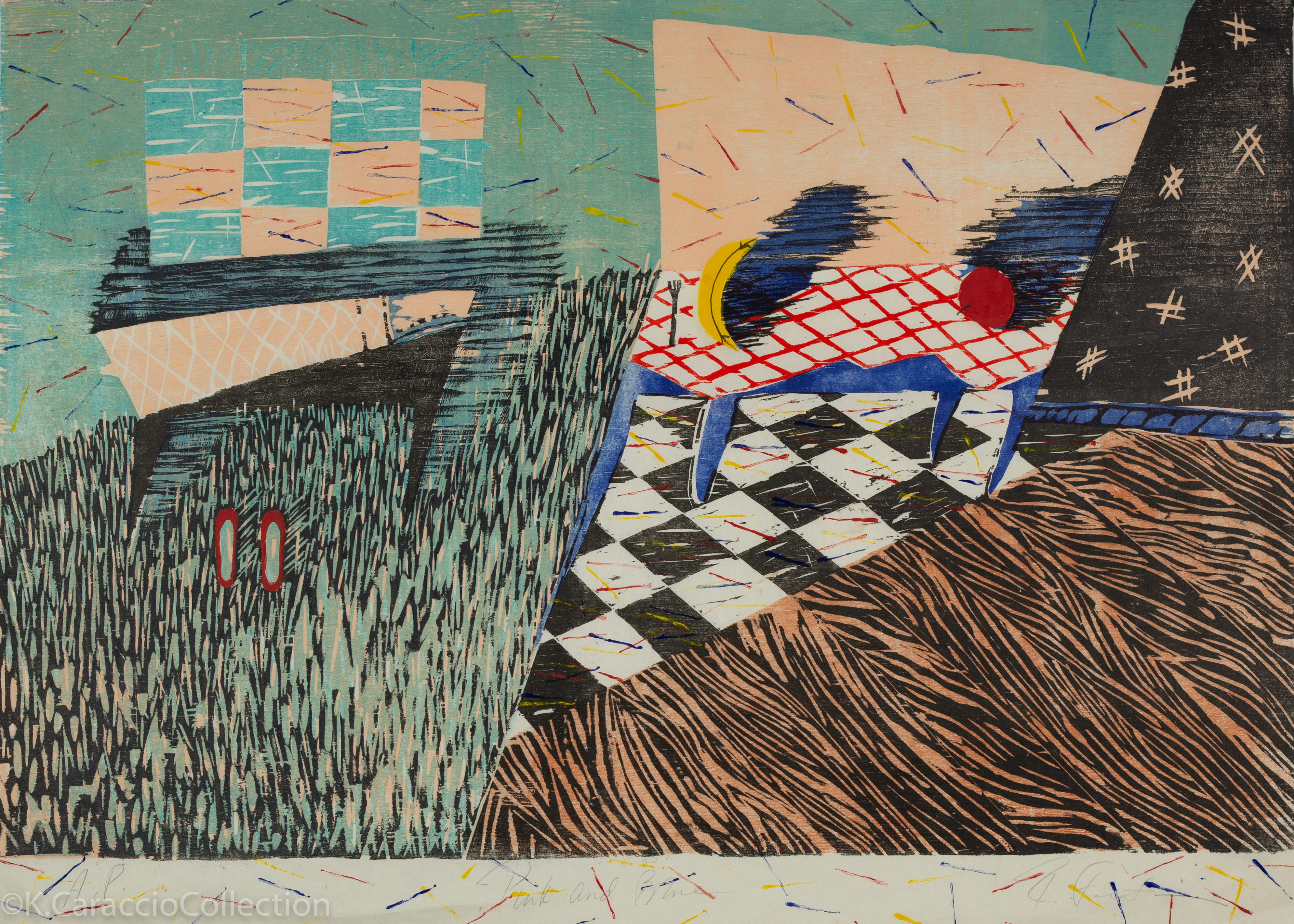 Pink and Blue, 1985