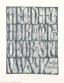 """""""Toledo Alphabet"""", 1991"""
