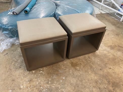 Custom Shagreen Benches