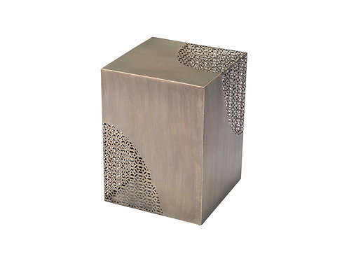 Ines Accent Table Antique Gold