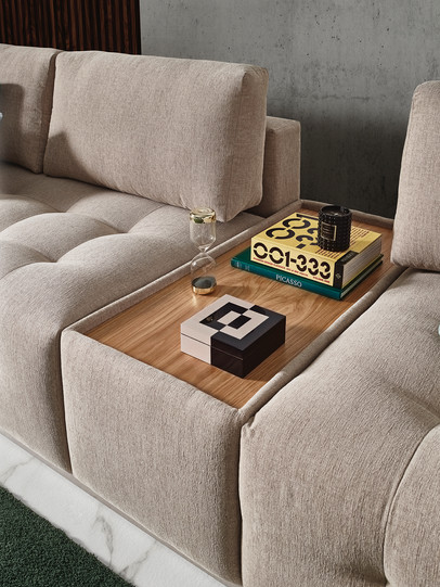 Calvin Sectional Side Table