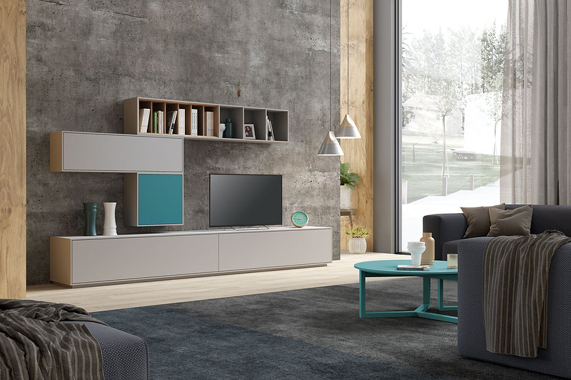 Visby Comp4 Wall Unit