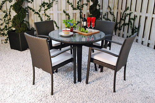Senna Round Dining Set Large
