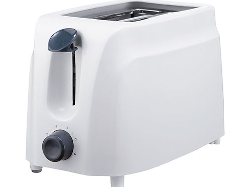 Brentwood TS-260W Cool Touch 2-Slice Toaster, White