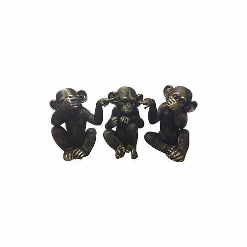He Did It Chimps (Set of 3)