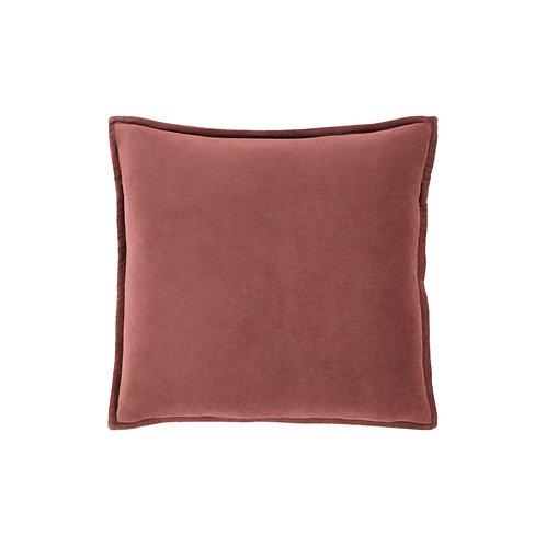 Cotton Velvet Throw Pillow (14 Colors)