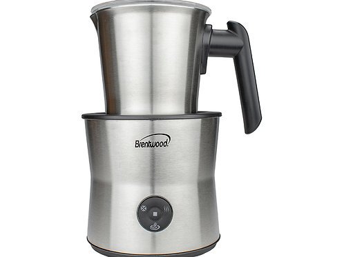 Brentwood GA-401S Cordless Electric Milk Frother, Warmer, & Hot Chocolate Maker
