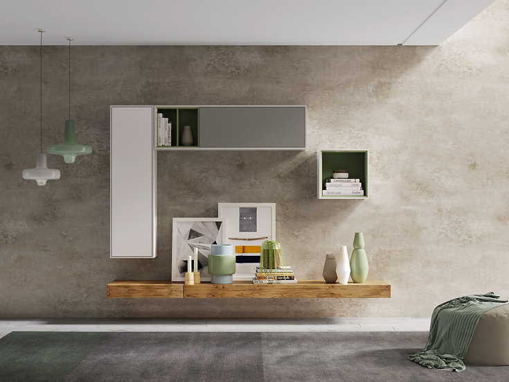Visby Comp10 Wall Unit