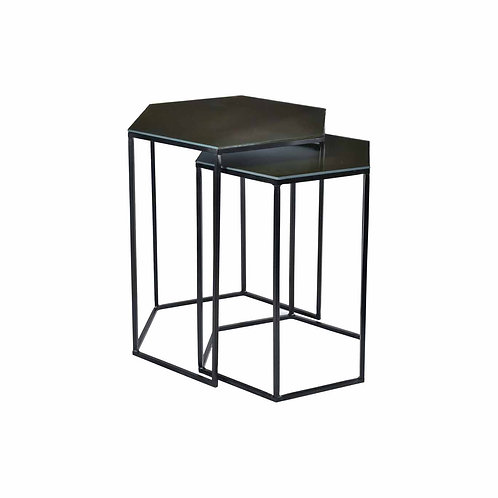Polygon Side Tables (Set of 2)