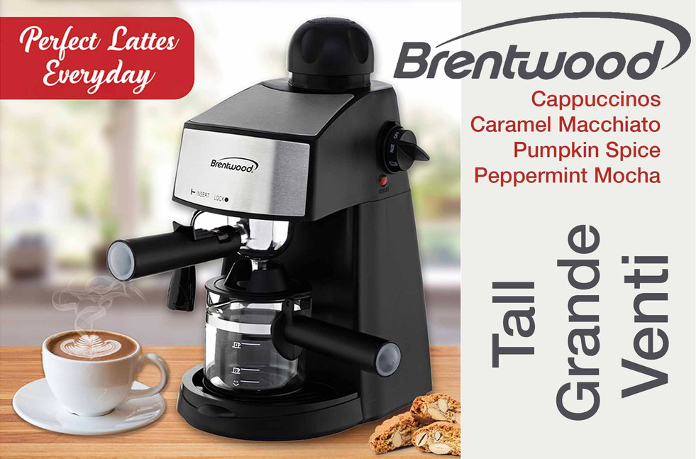 Brentwood Espresso Maker