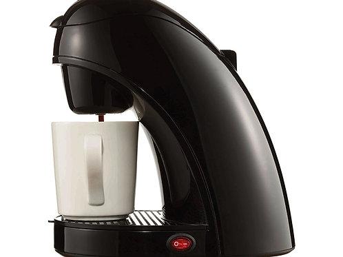Brentwood TS-112B Single Serve Coffee Maker with Mug, Black
