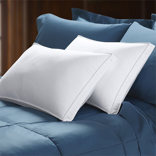 800 Fill Power White Goose Down Gusseted Pillow