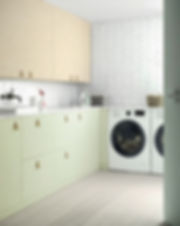 Laundy Room Makers Wood + Verde Salvia