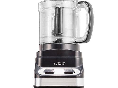 Brentwood FP-547 3 Cup Mini Food Processor, Black