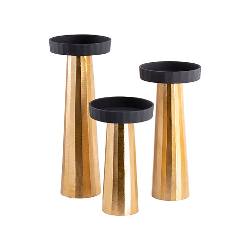 Taimur Candle Holders (Set of 3)
