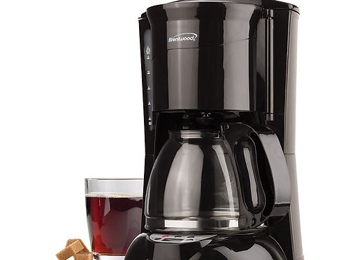 Brentwood TS-218B 12 Cup Digital Coffee Maker, Black