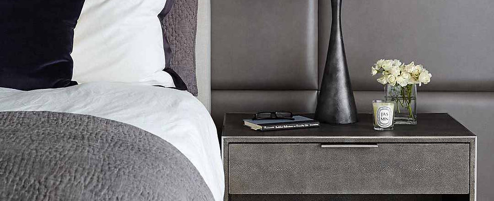 A Squared Curated Bedroom