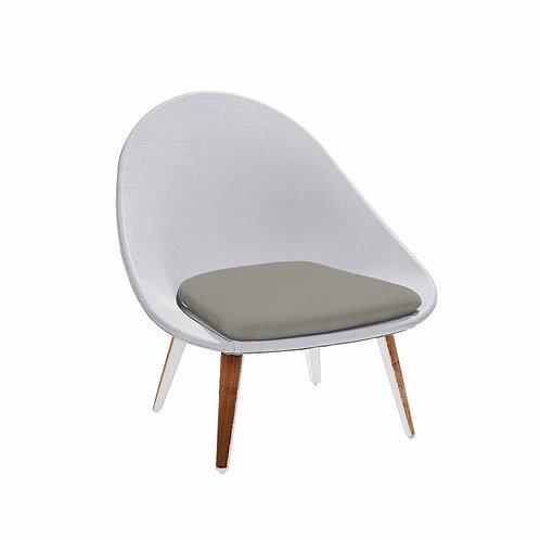 Dino Lounge Chair Sling Teak Leg