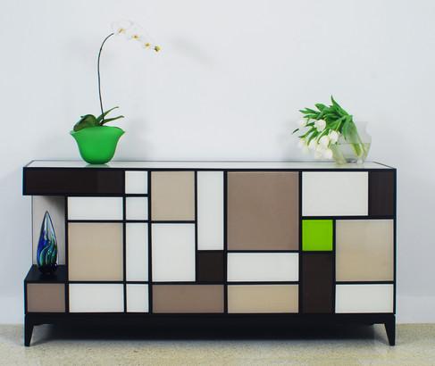 Custom Andres Mondrian Console