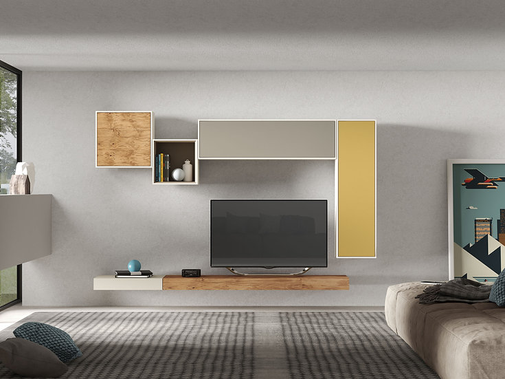 Visby Comp9 Wall Unit