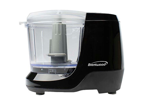 Brentwood MC-109BK 1.5 Cup Mini Food Chopper, Black