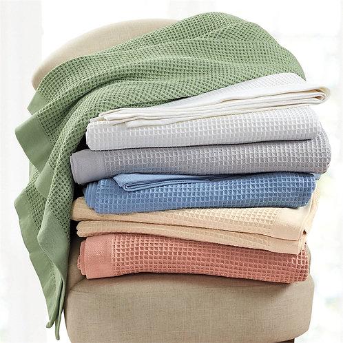 Hatteras Cotton Weave Blanket
