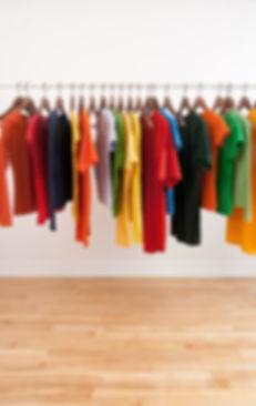 roupa de exibição