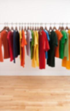 Affichage des vêtements