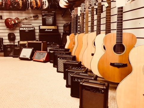 Guitar section pic