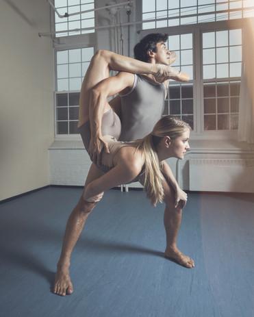 Kirsten Evans and Azamat Asangul