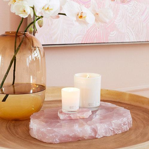 Rose Quartz Crystal Slab