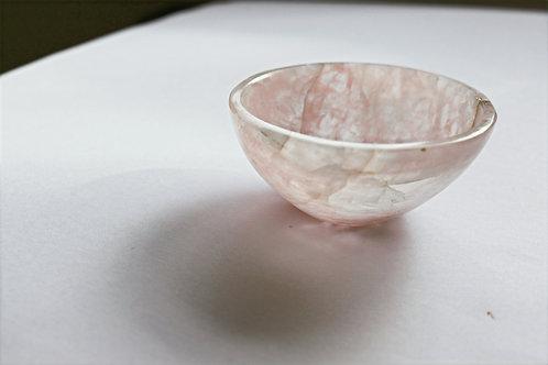 Rose Quartz Small Bowl