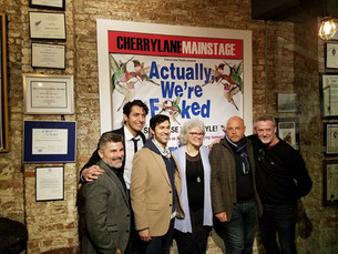 """LUCKY"" reading at Cherry Lane Theatre, NYC"
