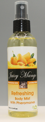 Juicy Mango refreshing body mist with pheromones and panthenol 100ml