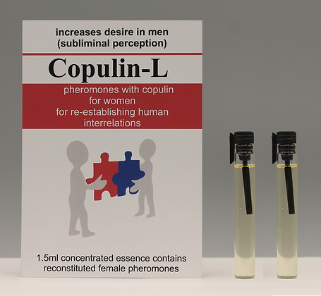 Copulin-L 100% Pheromone for Women 1.5ml + 1.5ml