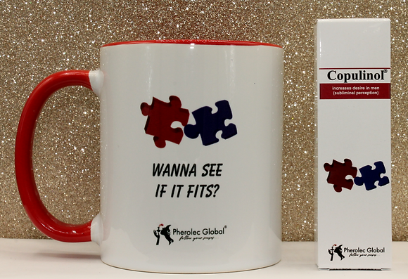 WANNA SEE IF IT FITS? 325ml Mug & COPULINOL 5ml 100% Pheromone for Women