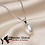 Thumbnail: Freshwater Pearl 8-9mm A+ Quality Necklace Woman 925 Silver