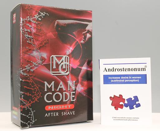 ANDROSTENONUM 100% Pheromone  1.5ml & Man Code NIGHT For Men 100ml