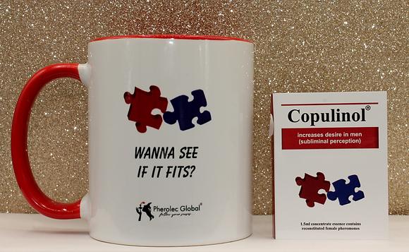 WANNA SEE IF IT FITS? 325ml Mug & COPULINOL 1.5ml 100% Pheromone for Women