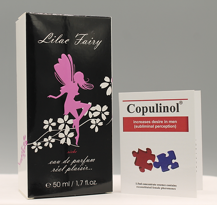 COPULINOL 100% Pheromone  1.5ml & LILAC FAIRY Riche For Women 50ml