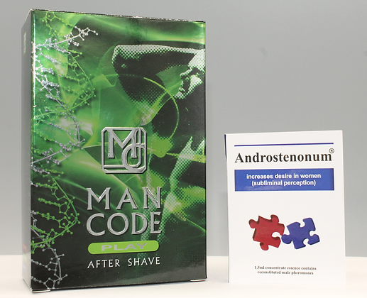 ANDROSTENONUM 100% Pheromone 1.5ml & Man Code PLAY For Men 100ml