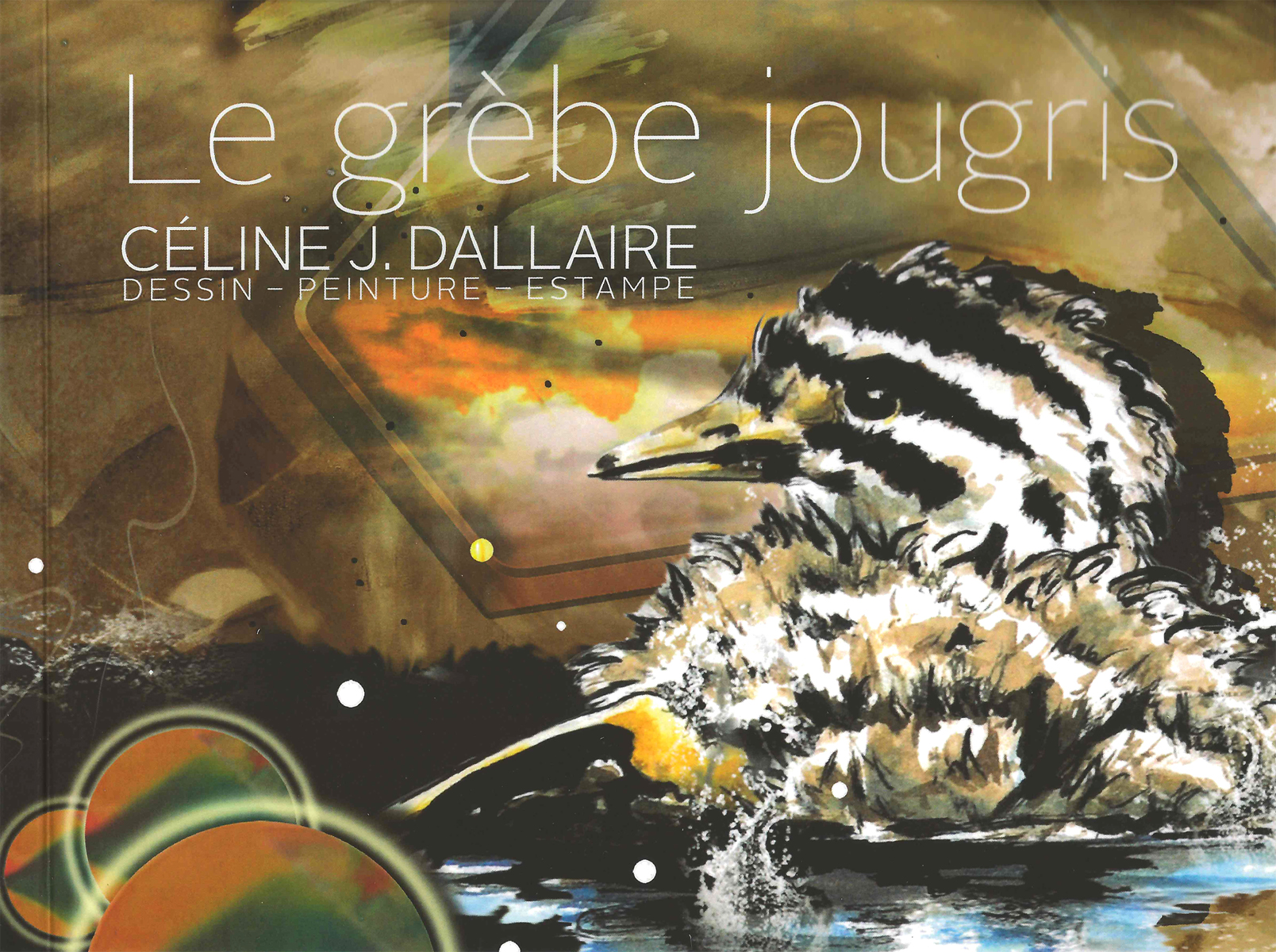 Livre Grèbe jougris CJD  2014 - 4 x 5