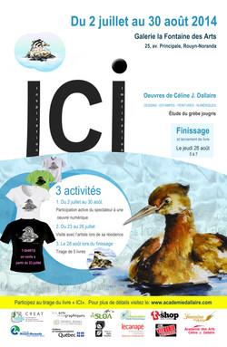 Affiche ICI  Nouvelle impression