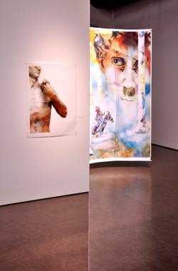 """Installation """"FACE À L'IMAGE"""""""
