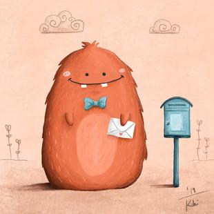 Das Monster und der Liebesbrief