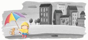 """Kleine Wunder - Illustration aus dem Buch """"Das Lied des Rotkehlchens"""""""