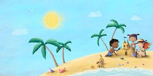 "The Sun - Illustration aus dem Buch ""Why Am I"" (Seven Seas Press)"