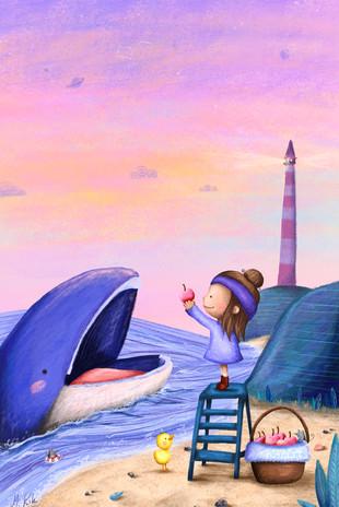Mademoiselle Kiki und der kleine Wal